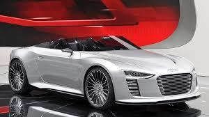 Электрический Audi R8 e-tron Concept