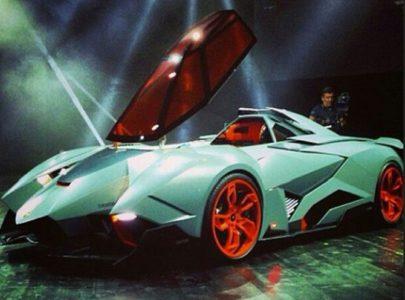 Суперкар Эгоист от Lamborghini анонсировали в Италии