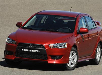 Mitsubishi Lancer X – агрессивный полуспортивный седан с технологией RISE