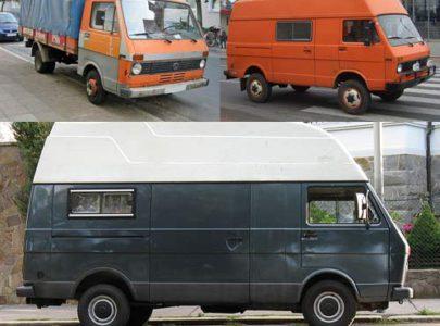 Volkswagen LT первого поколения – надежность и неприхотливость