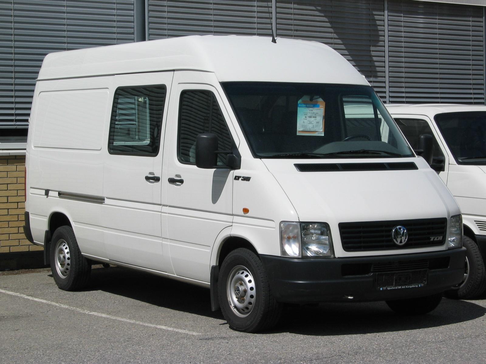 Второе поколение Volkswagen LT