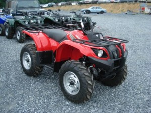 Yamaha Grizzly 450 Auto 4×4 EPS