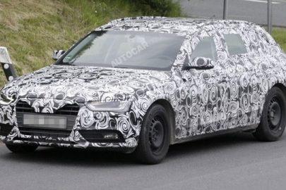 Фейслифтинговая версия Audi A4