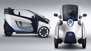 трехколесный электрокар от Toyota