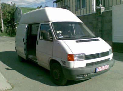 Volkswagen Transporter Т4 – долгожитель семейства микроавтобусов