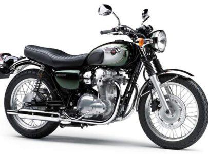 Мотоциклы W800 Kawasaki в классе «ретро-родстер» уже в продаже