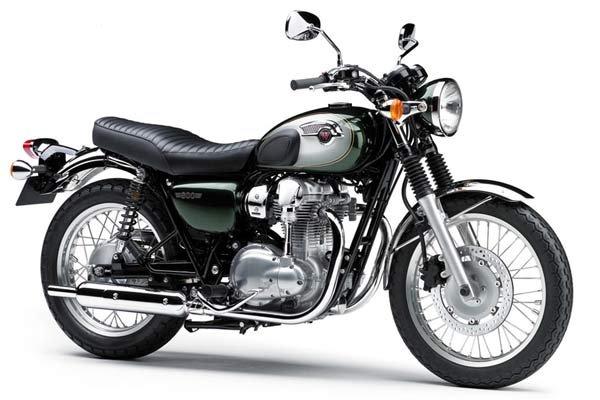 Мотоциклы W800 Kawasaki