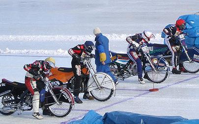 Спидвей на льду – характерные особенности конструкции мотоциклов