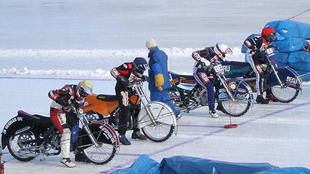 Спидвей на льду