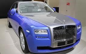 Rolls-Royce разработал для Ghost специальную серию Art Deco